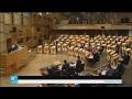 جلسة للبرلمان الإسكتلندي لبحث الاستقلال عن بريطانيا