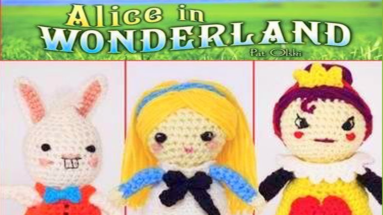 Alice in Wonderland Amigurumi Crochet Pattern - English, Dutch ...   720x1280