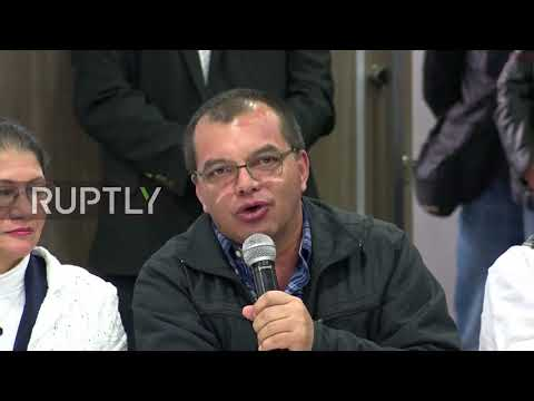 Colombia: 'Social justice and democracy' - FARC announce 'Timochenko' as presidential candidate