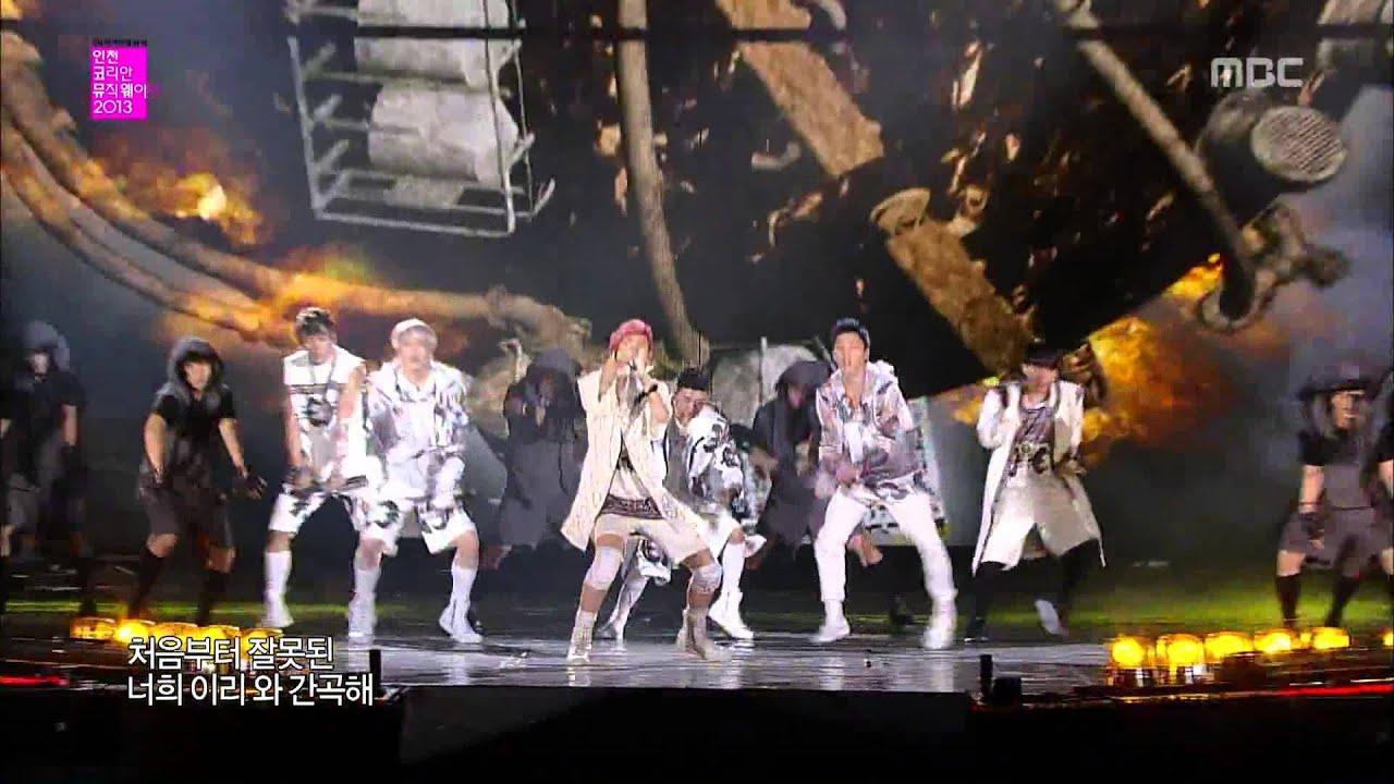 Download B.A.P - Badman @ MBC Incheon Korean Music Wave 2013 1080P 130919