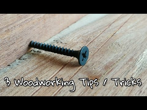 3 Amazing Woodworking Tricks Tips Youtube