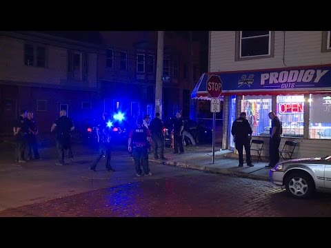 Three people shot during robbery at barbershop on Cleveland's westside