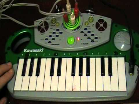 Circuit Bent Kawasaki Keyboard