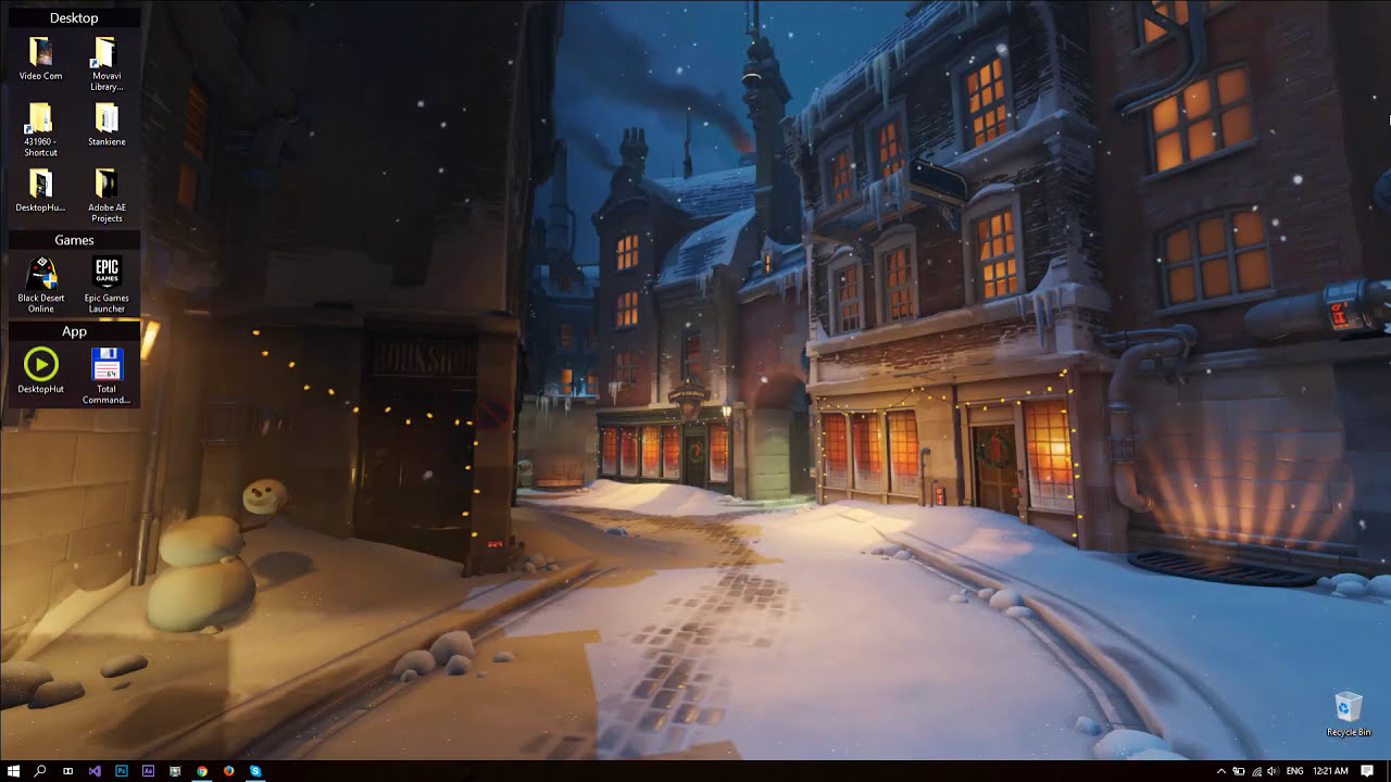 Overwatch kings row christmas live wallpaper youtube - Overwatch christmas wallpaper ...
