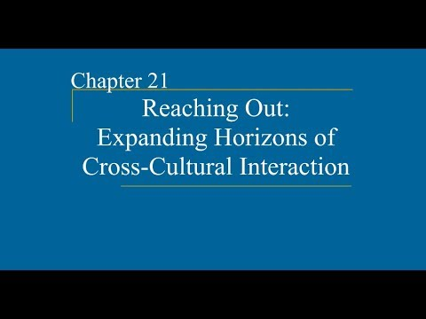 AP World HIstory Ch 21 Reaching Out Expanding Horizons Of Cross Cultural Interaction