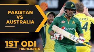Australia Stun Pakistan In Thriller   Pakistan vs Australia   1st ODI Highlights   PCB   MA2E