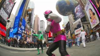 Power Rangers Take New York