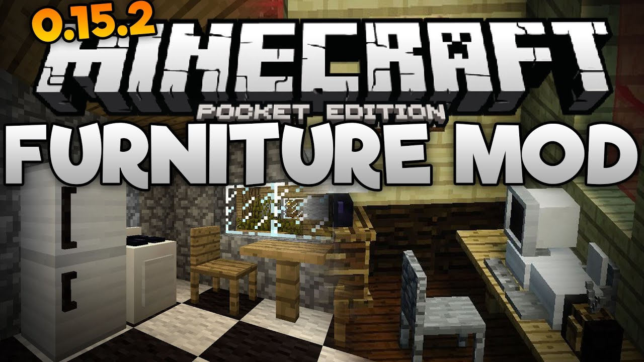 Furniture Decorations In Mcpe The Furniture Mod For Minecraft Pe Pocket