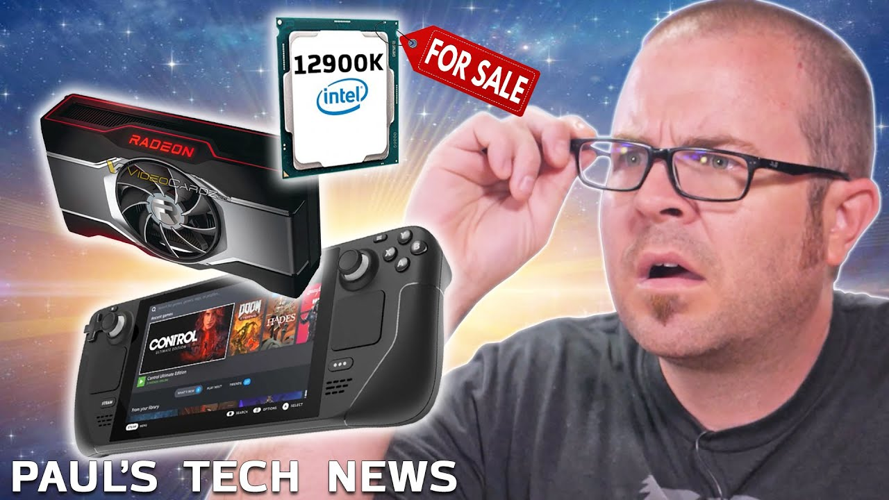 eBay Cancels Steam Deck Scalpers, RX 6600 XT Leaks, and 12900Ks for Sale!