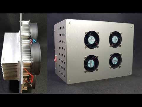 Build A Air Conditioner Using Peltier Youtube