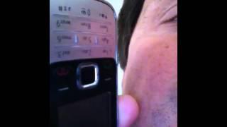 Sesso al telefono con la canalis