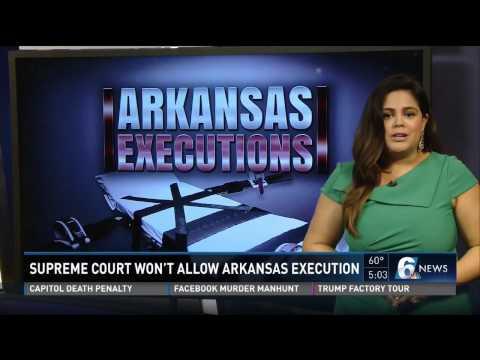 Supreme Court Won't Allow Arkansas Execution