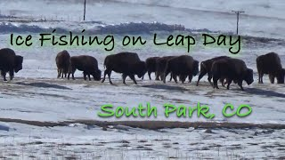 Ice Fishing On Leap Day