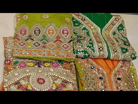 Zunirf Lattest Designer Wedding Or Party Wear Pakistani Suits||