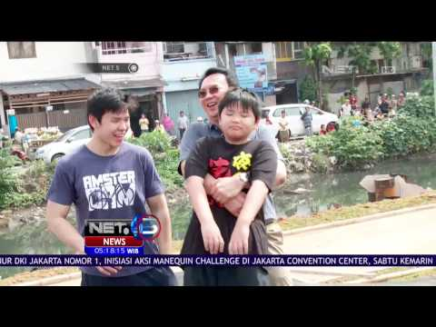 Cagub Basuki Tjahaja Purnama Ajak Anak Bermain Sepeda Ke Kalijodo Park - NET 5