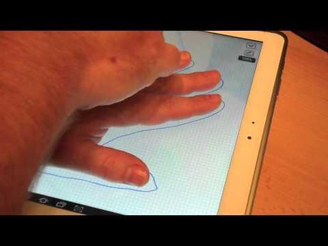 Palm Rejection en Galaxy Note 10.1