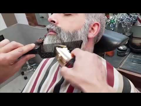 best-beard-style-for-men-2020-/-beard-grooming-/-grey-beard