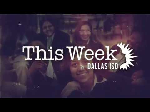 This Week! in Dallas ISD: Sept. 29 edition - YouTube