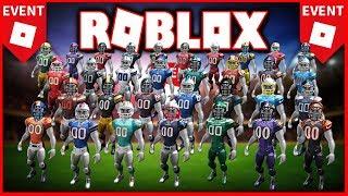 Novo evento ROBLOX NFL com 37 prêmios!! 🏆 (E EMOTES LIVRES)