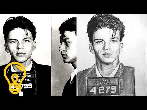Young Sinatra's Mugshot