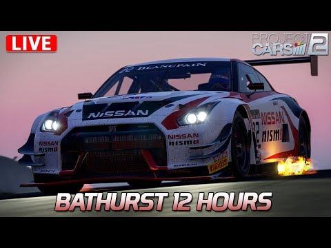 Bathurst 12 Hours    LIVE   Project CARS 2   [HD] [GER] Nissan GT-R Nismo GT3