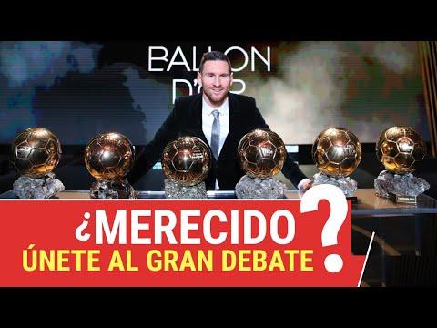 LIONEL MESSI BALÓN DE ORO 2019 ¿Merecido? ¡Únete al Gran Debate! - Video Reacción
