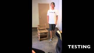 Ala 100 Cardboard Chair Challenge