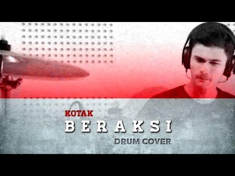 (Drum Cover) KOTAK - Beraksi