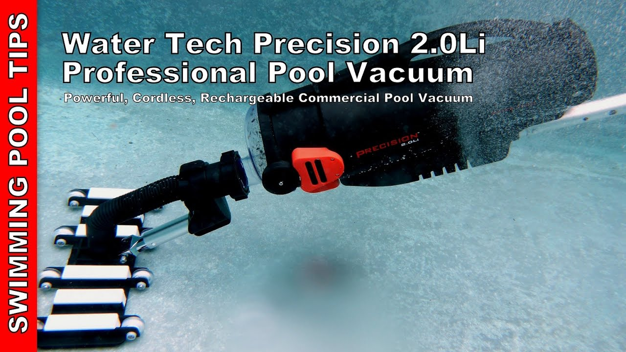 Pool Blaster Catfish Zubehör Water Tech Precision 2 0li Professional Pool Vacuum Overview