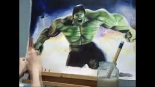 The Incredible Hulk: Speed Painting