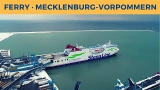 Passage ferry MECKLENBURG-VORPOMMERN, Rostock-Trelleborg (Stena Line)