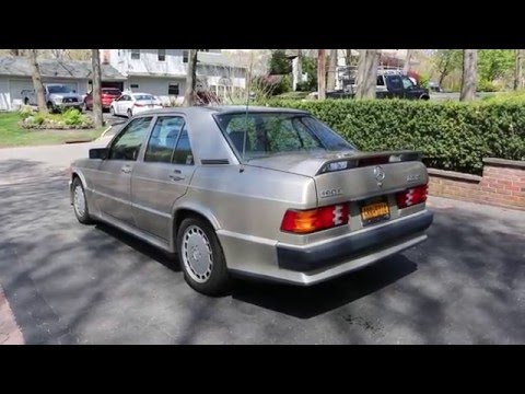 14 995 1987 Mercedes Benz W201 190e 2 3 16v For Sale 1