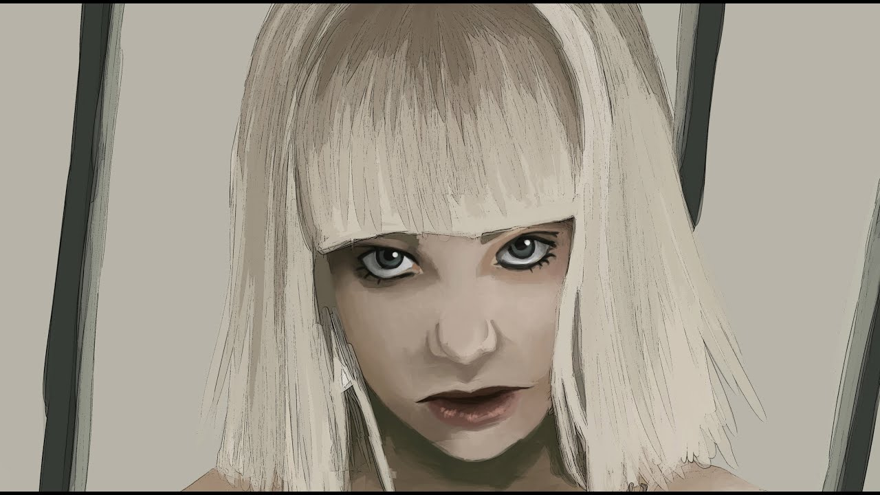 Sia Elastic Heart Speed Drawing/ Painting - YouTube
