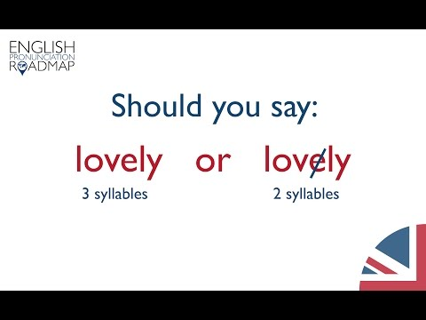 How To Ounce English Words Correctly