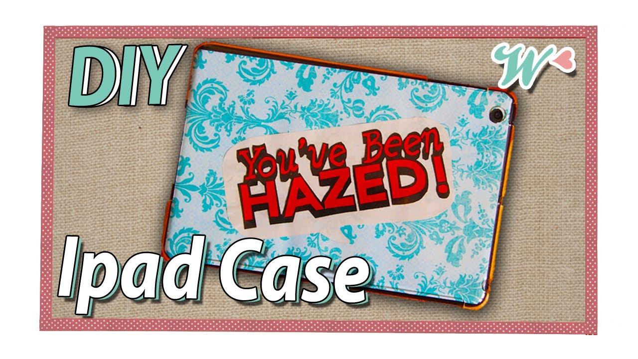 Karen's Crafts: DIY Ipad Case - YouTube