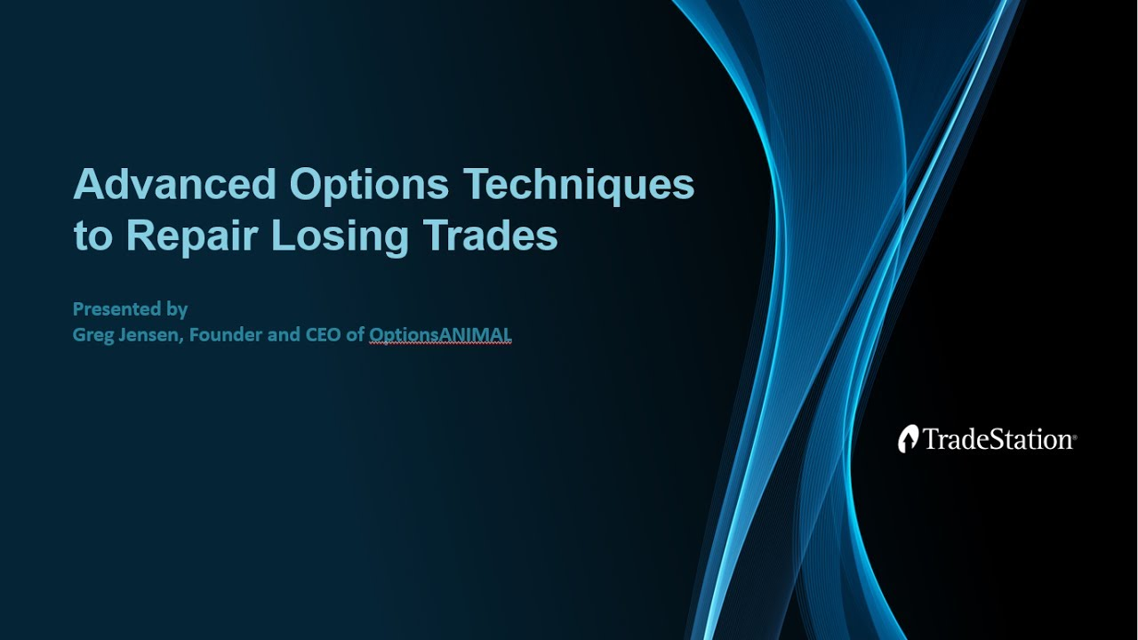 Advanced Options Techniques to Repair Losing Trades