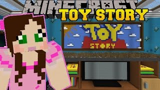 Minecraft: LIVING ROOM - TOY STORY - Custom Map [2]