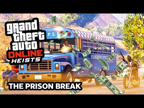 GTA 5 Heist Online Gameplay THE PRISON BREAK Heist! (GTA 5 Online Heist DLC Update Gameplay)