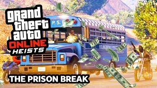 GTA 5 Heist Online Gameplay THE PRISON BREAK Heist! (GTA 5 Online Heist DLC Update Gameplay)
