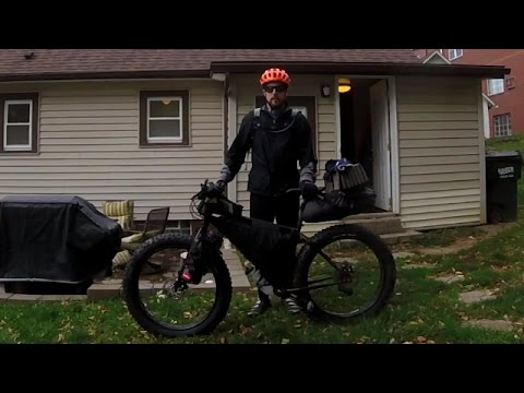 Bikepacking to Mohican state park