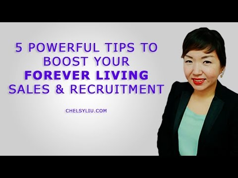 Forever Living UK: 5 Sales & Recruitment Boosters For Your FLP Business | Canada Australia Singapore
