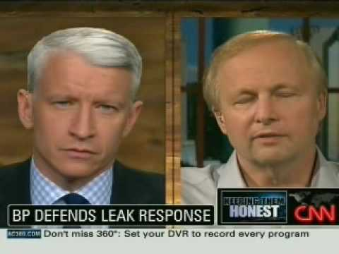 BP Oil Executive - CNN Interview part 2 of 2