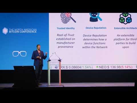 Dave Fragale - Atonomi - The North American Bitcoin Conference 2018