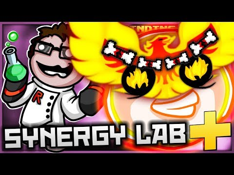 The Binding of Isaac: Afterbirth+ - Synergy Lab: PHOENIX BONE DRAGON PET! (Feels So Alive)