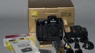 Unboxing: Nikon D2x
