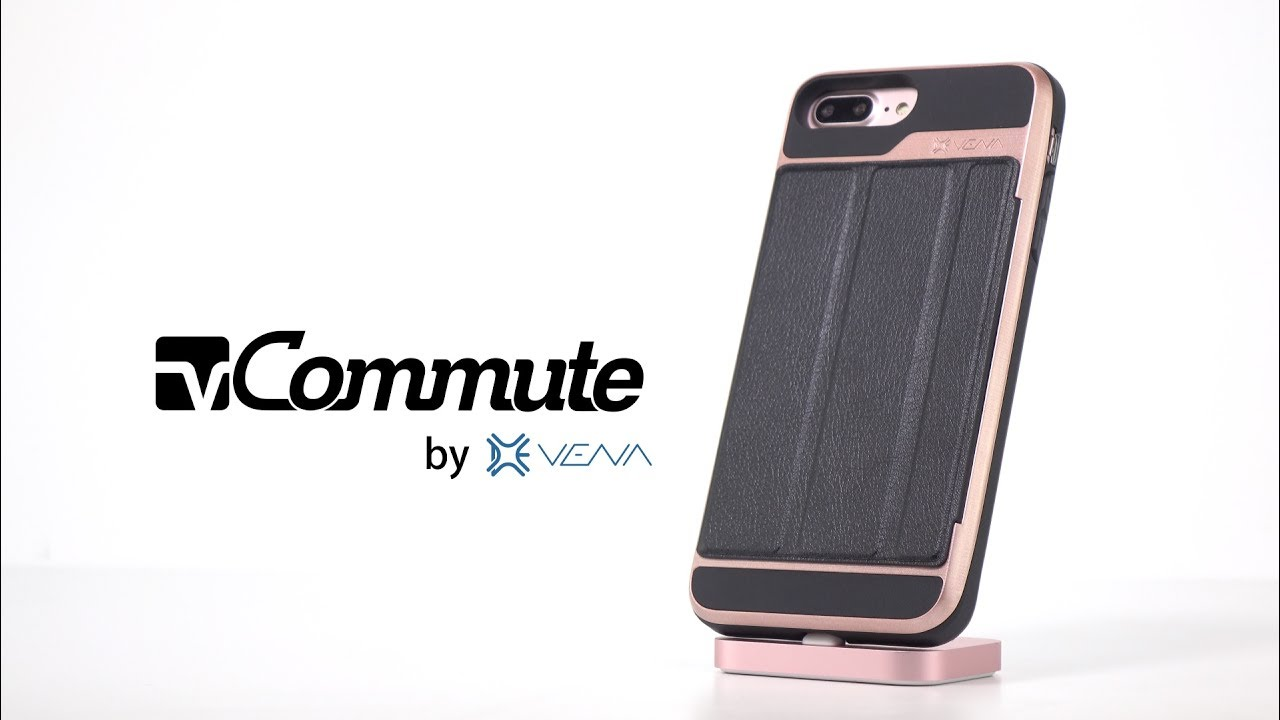 timeless design 02c56 fee4c The Best iPhone Wallet Case, Vena vCommute Multi-Purpose Case - Protection,  Card Holder and Stand