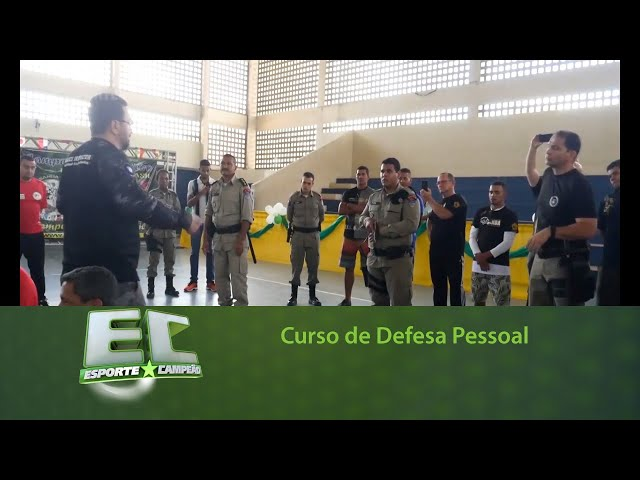 Curso de Defesa Pessoal com o instrutor João Dias