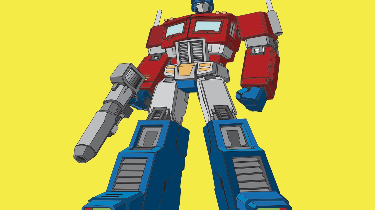 Optimus Prime Vs Transformers Superhero Coloring Book Coloring