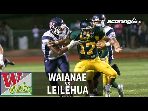 SL Review | Waianae vs. Leilehua: OIA Red D1 Football (Aug. 28, 2015)