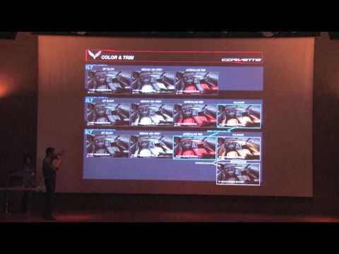 C7 Corvette Interior Design Seminar at the 2013 NCM Bash
